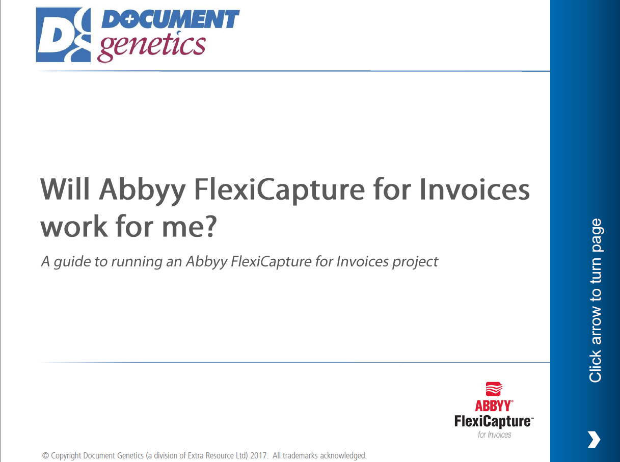 A guide to implementing Abbyy for Invoices front