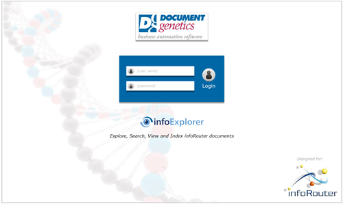 infoExplorer login document genetics