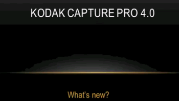 Kodak CaputurePro demonstration