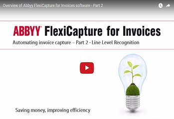 Abbyy Flexicapture for Invoices Video Demonstration Pt2